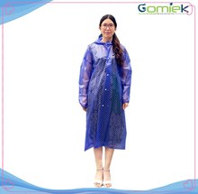Adult EVA new stock rain poncho/wholesales raincoat for promotional gift,travel,surfing,out door game