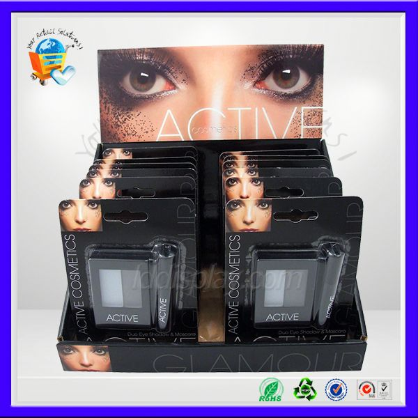 lipsticks pop carton counter top display ,refrigerated table top display ,cardboard pos counter displays