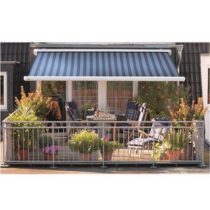 Semi Cassette Folding Arm Sunshade Awning for Balcony