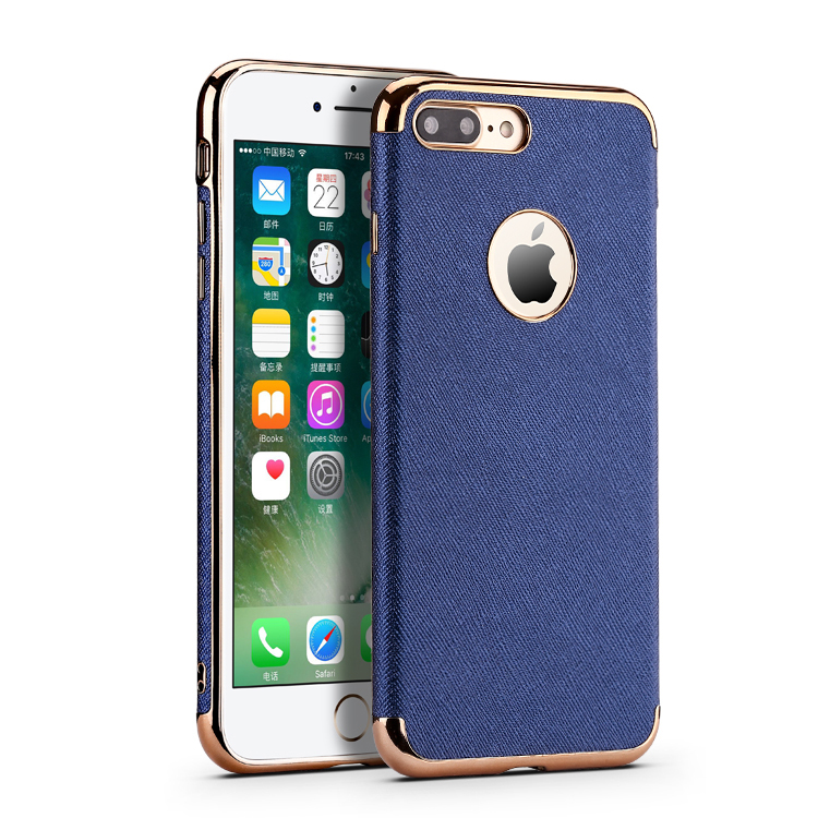 Best Selling Free Shipping Luxury Chroming TPU Hybrid Leather Skin Mobile Phone Case for <strong>iPhone</strong> 7 / 7 plus