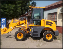 hydraulic diesel mini wheel loader for sale ZL12F with 1.2 ton lifting capacity