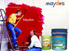 Water borne acrylic polymer emulsion external wall paint