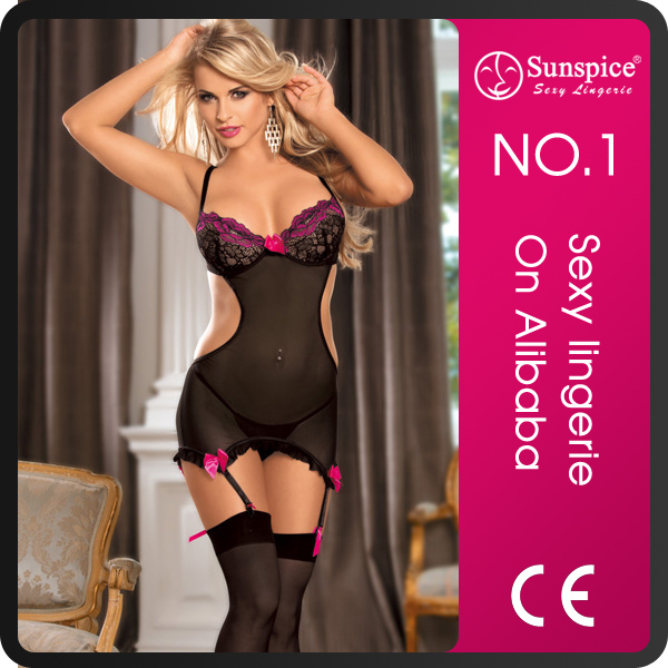 Top quanity hot sale nude women wearing lingerie sexy teddy wear honeymoon lingerie sexy nighty sexy lingerie for men