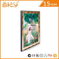 2016 hot sale scrolling family tree photo frame aluminum extrusion for picture frame