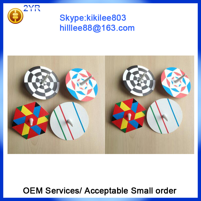 customized toy promotion Plastic Material Toy spinning top toy promotion spinning top