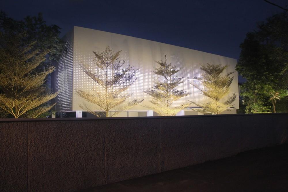 Exterior Led Light Building Facade Metal Irregular Wall Panel - Buy Led Light Building Facade ...
