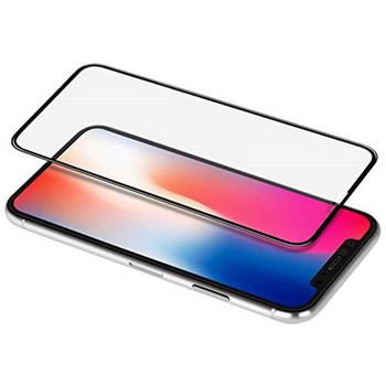 for iPhone X XR 3D cover tempered glass screen protector