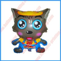 Shape Bad Big Big Wolf Foil Balloon(47cm*63cm)(self sealing balloon, requires air or helium inflation)