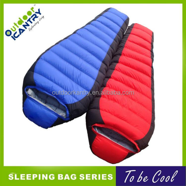 lover 2 man joining together sleeping bags KS1015 nylon down sleeping bag fanctory oem
