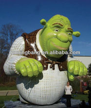 Advertising inflatable shrek inflatable cartoon character for sale