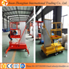 single mast aluminium lift/ hydraulic lift table /aerial work lift platform