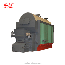 Capacity 8t DZL Series Chain Grate Stoker Coal fired Steam Boiler Machine