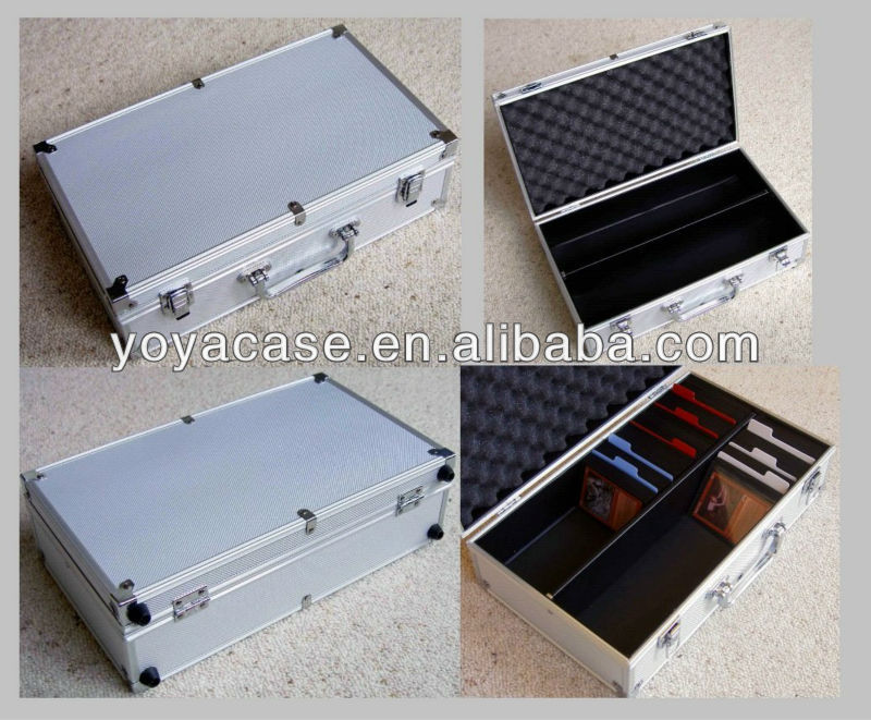Aluminium Stroage Case for TCG, Trading Cards, Sports Cards