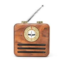 outdoor mini retro wood radio antique wireless <strong>bluetooth</strong> <strong>speaker</strong>
