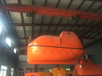 SOLAS manufacturer 5.0 mtr totally enclosed used lifeboat