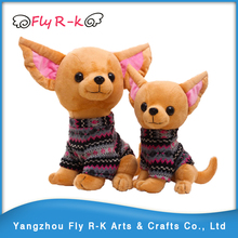 lively stuffed Chihuahua dog plush toys and dolls