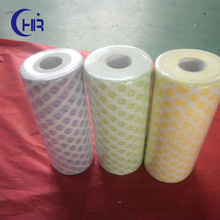 dots embossed spunlace nonwoven fabric for wet wipe