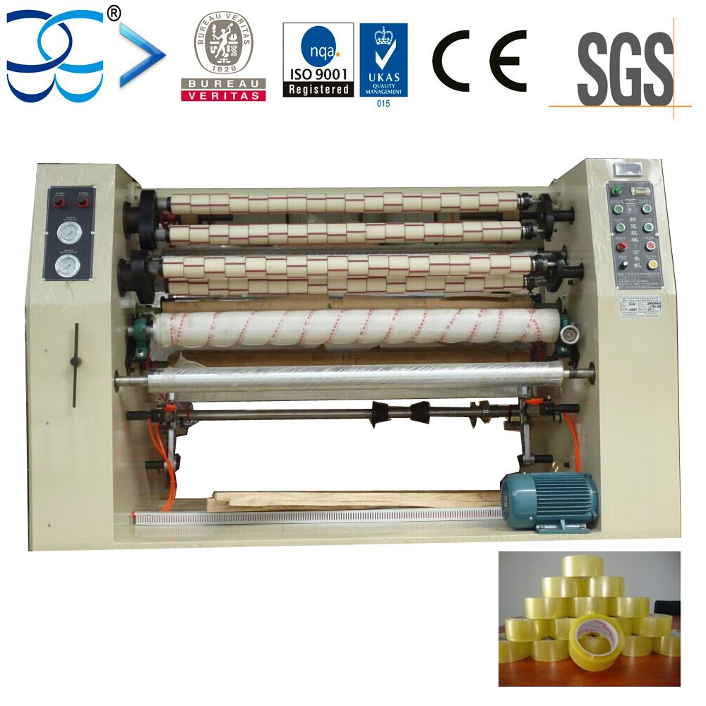 XW-210 BOPP adhesive tape slitting and rewinding machine factory
