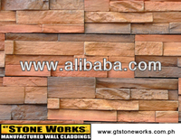 MANUFACTURED STONE WALL CLADDING - MOUNTAIN LEDGE Windsor