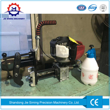 High speed petrol engine power Internal combustion rail drilling machine on railway