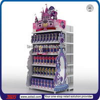 TSD-M130 factory custom high quality metal display rack for supermarket,gondola shelving,department store furniture