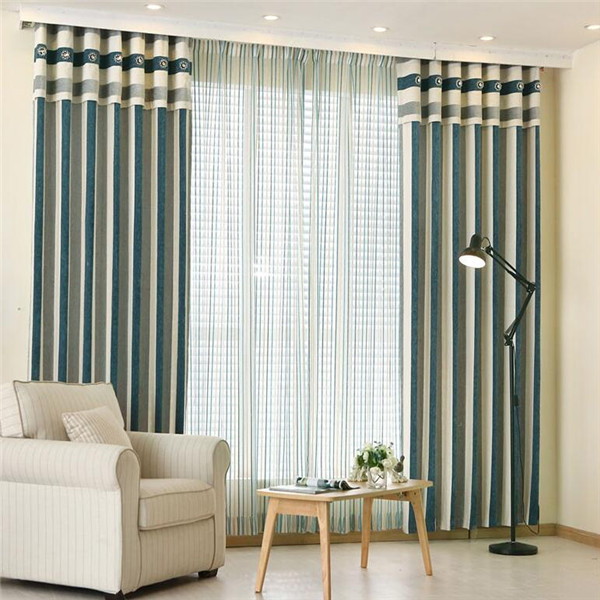 wholesale drapery fabric window curtain for living room