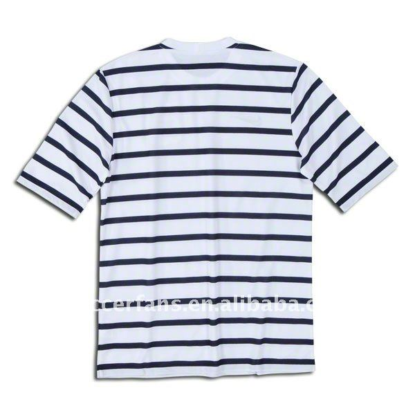 football jersey horizontal stripe
