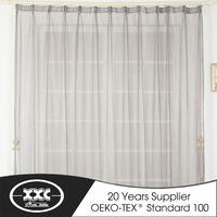 100 polyester curtains for kinds of market