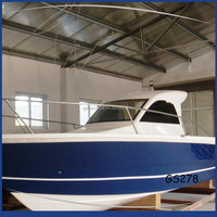 Gather China used outboard engine small fiberglass boat for fishing