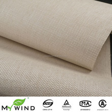 Natural Beige Paper Weave Wallcovering Textured Living Room kids room decoration Wallpaper For Household