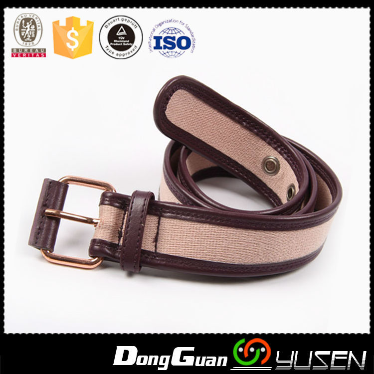 Wholesale Embossed Western Fashion Leather Golf Belt Men