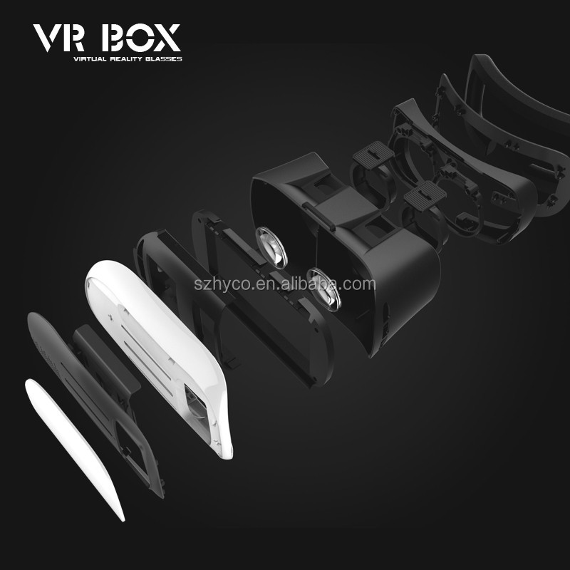 2016 NEW VR Box 3D virtual reality glasses VR case