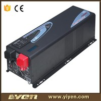 12V to 220V pure sine wave power star inverter with battery charger and solar charger controller 3000W