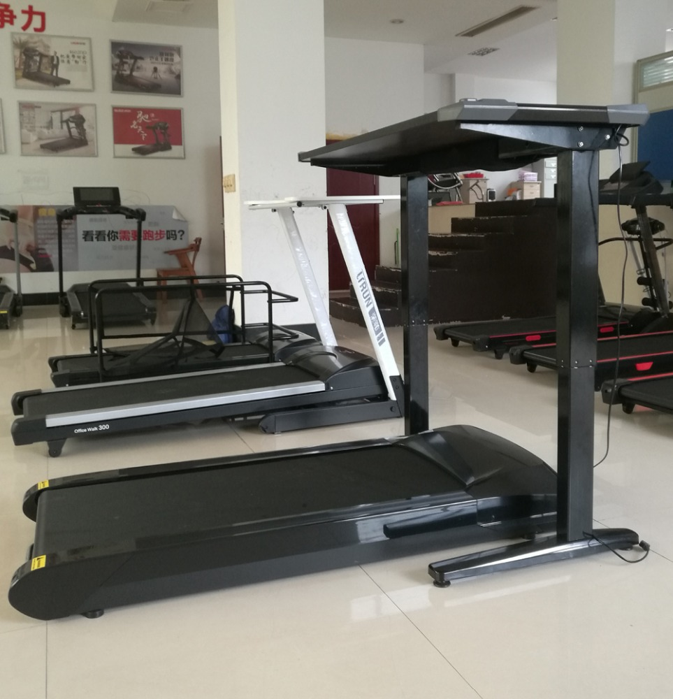 2017 Walking treadmill for continuous 12 hours use with durable DC motor