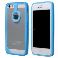 New For Apple iPhone 5 5S Soft Silicone Slim Bumper Frame Mobile Cell Case