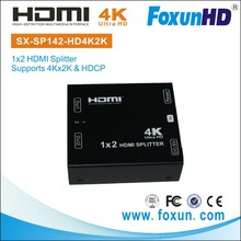 SX-SP142E-HD4K2K 1 in 2 out hdmi splitter support 4K and EDID