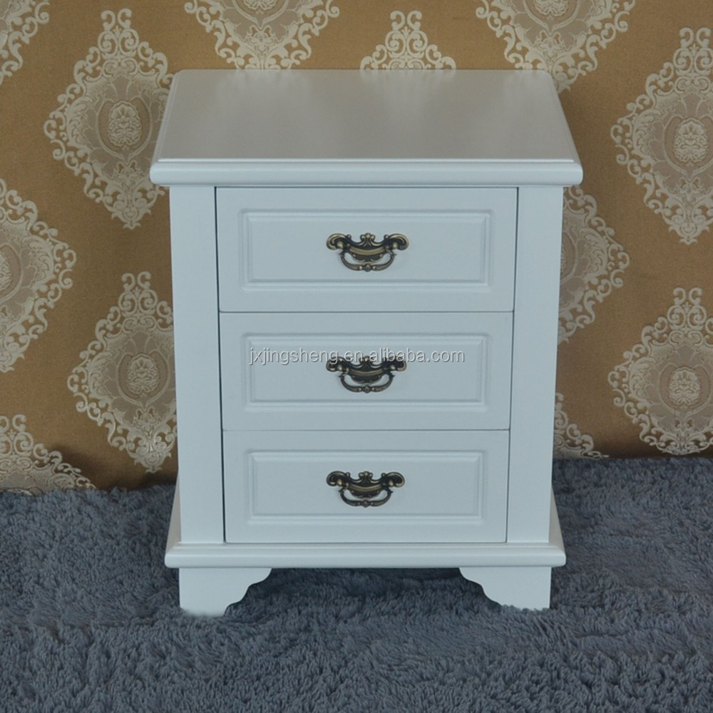 french provincial furniture bedroom wooden nightstand white bedside table