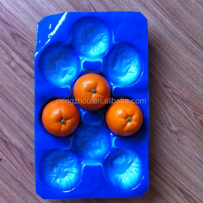Safety Food Grade Custom Design Mango Avocado Tomato Apple Kiwi Fruit Plastic Packaging Tray