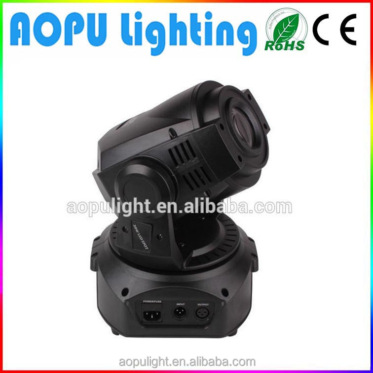 gobo dj lighting projector 30w led moving head light for holiday