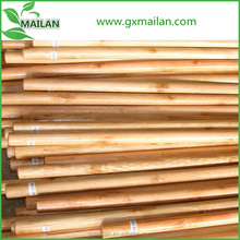 varnished wooden broom handle with high quality