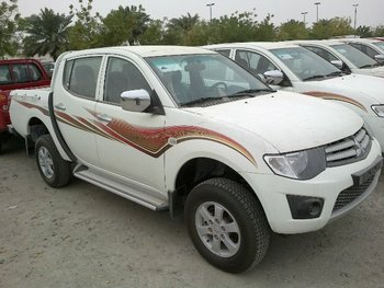 Mitsubishi L 200 pick up 2014 model B-6 Level armor
