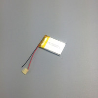 prismatic lithium-ion polymer rechargeable batteries 303450 3.7v 500mah for DVR