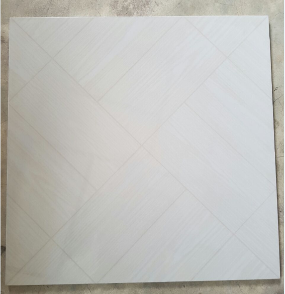 china suppliers Special stock products 500X500 tile like wood Osmotic flowers polished floor tile