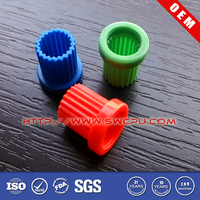 Custom injection molded double plastic spur gear