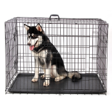 Wholesale Stainless Steel Metal Pet Dog Cage For Big Pet Dog
