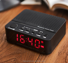 FM radio clock bluetooth speaker alarm clock radio phone desk clock