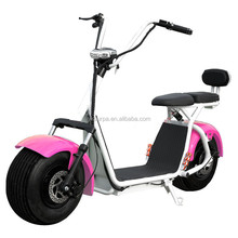 2017 new model 1000w 1500w 60V 12ah lithium battery fat tire electric scooter/moped electric