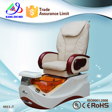 hot sale beauty nail salon furniture luxury throne spa pedicure chairs of nail supplies(KM-S811-7)