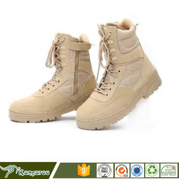 Men military Shoes Desert <strong>Boots</strong> with zipper