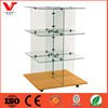 Boutique store clothing / handbags / scarf glass display stand